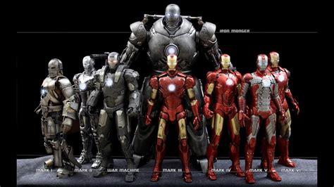 iron man suits names mark mark