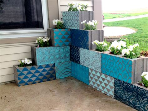 how to diy 12 creative garden uses for cinder blocks