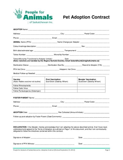 printable animal adoption forms dog adoption agreement related keywords dog adoption