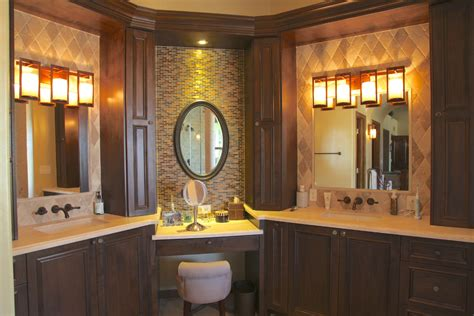 bathroom vanities makeup area bathroom vanities with makeup area bathroom traditional