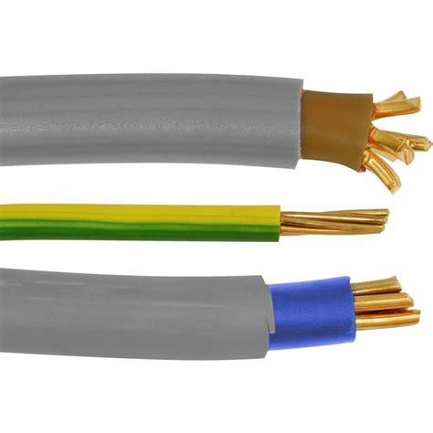 uk electrical wiring and cable colour guide with photos