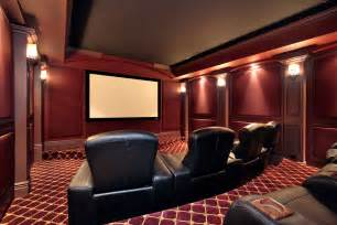 Home Theater Sconce Lighting 37 Mind Blowing Home Theater Design Ideas Pictures