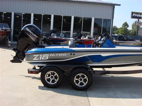 nitro model boats nitro z series z18 bass boats new in warsaw mo us