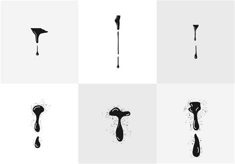 Abstract Wall Murals spray print drips download free vector art stock