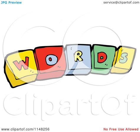 5 Letter Words Vector of alphabet letter blocks spelling words royalty