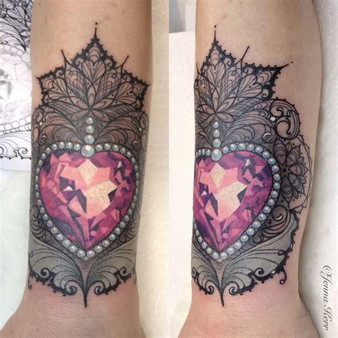 rose cuff tattoo details of lace cuff lace me