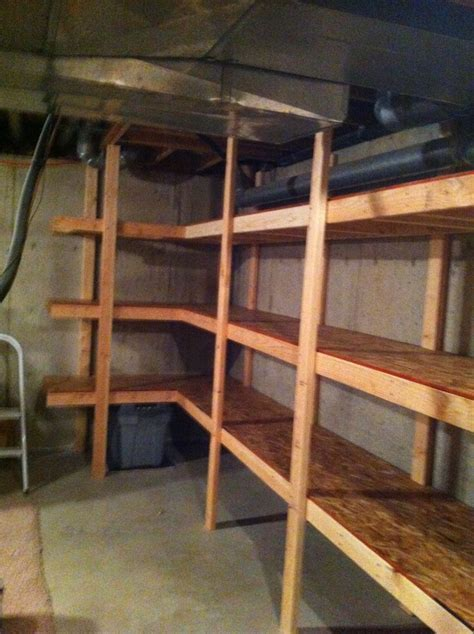 basement storage reveal
