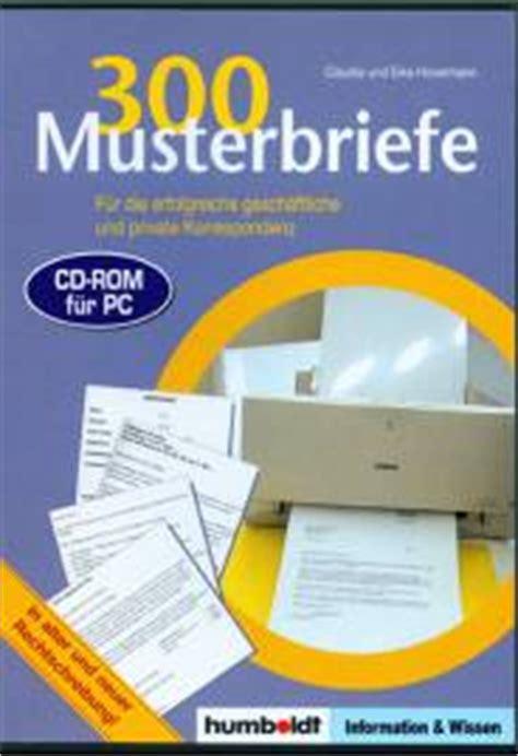 Musterbriefe Korrespondenz 300 Musterbriefe F 252 R Die Und Gesch 228 Ftliche Korrespondenz Information Wissen