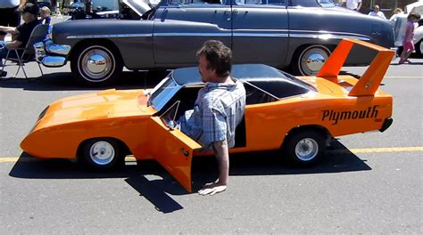 Handmade Automobiles - 1 2 size 1970 plymouth bird steals the show america