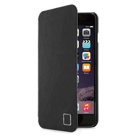 For Iphone 6 Plus 6s Plus Black Free Tempered Glass iphone 6 plus 6s plus slim real leather in black proporta
