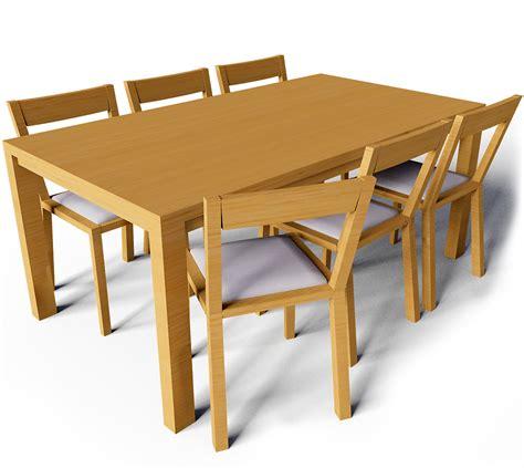 ikea table and bench objeto bim y cad bjursta mesa y sillas de roger ikea