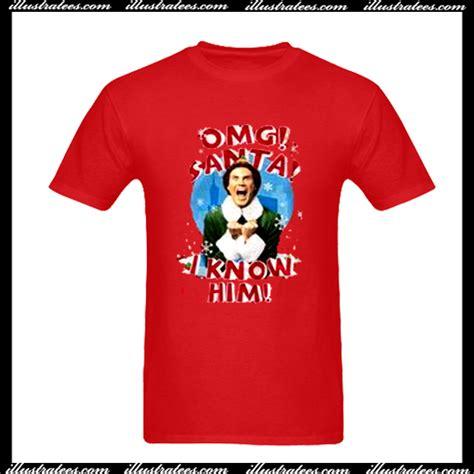 I Him Shirt Omg Santa I Him T Shirt
