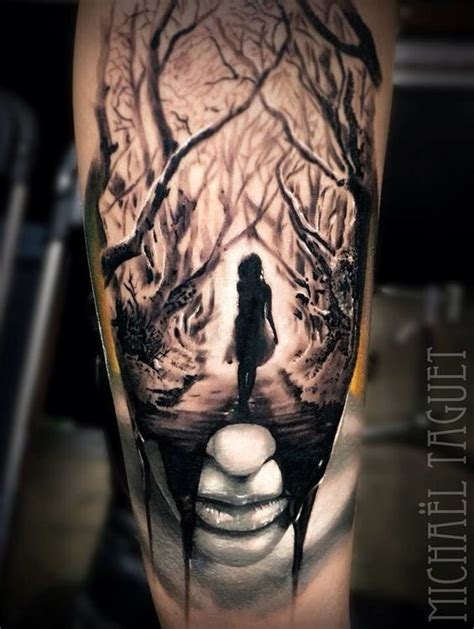 17 best ideas about dark forest tattoo on pinterest