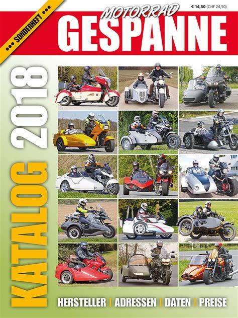 Neue Motorrad Gespanne by Motorrad Gespanne Die Zeitschrift Der Gespannfahrer