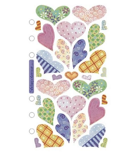 Spark Create Imagine Kitchen Sticko Vellum Stickers Pastel Hearts Jo Ann