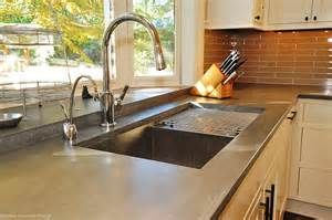 kitchen creative concrete polishing kitchen countertop
