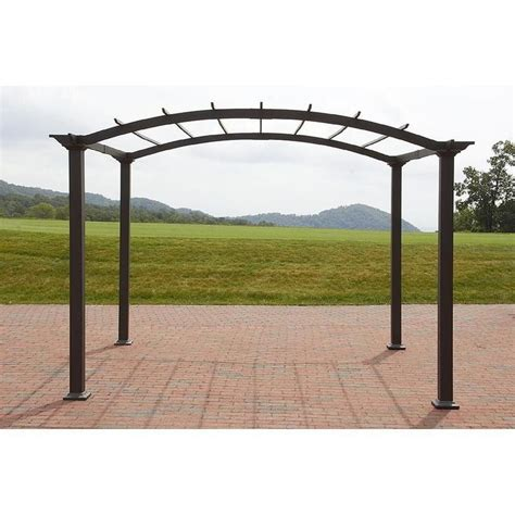 8 X 10 Patio Gazebo Outdoor Pergola Steel 8 X 10 Patio Gazebo Garden Canopy