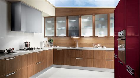 modern walnut kitchen cabinets vallandi design and