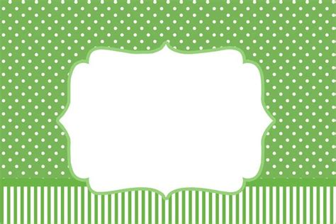 Clever Idea From Poaa by Fazendo A Minha Festa Po 225 Verde E Listras Kit Completo