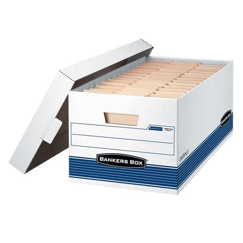 Bankers Box Stor File Storage Box Letter Free Shipping New