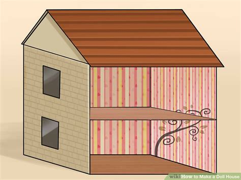 how to make a dolls house how to make dolls house 4 ways to make a doll house wikihow