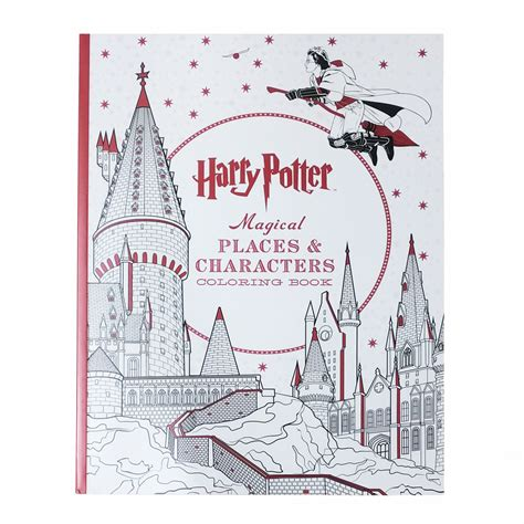 harry potter coloring book by scholastic harry potter magical places characters colouring book