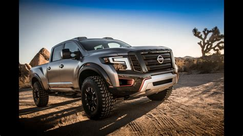 Nissan Titan Concept Nissan Titan Warrior Concept Makes World Debut At The 2016