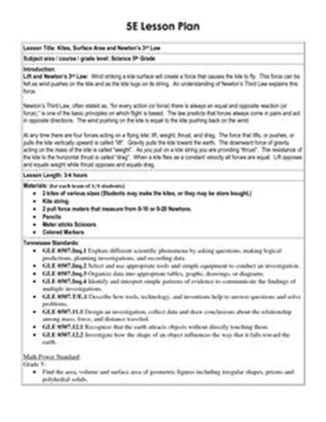 inquiry lesson plan template oh my science 5e model of inquiry lesson plan