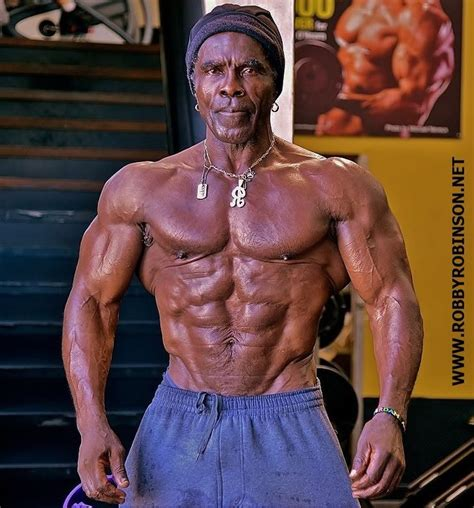 senior bodybuilders over 50 lifting reverses age robby robinson aka the black