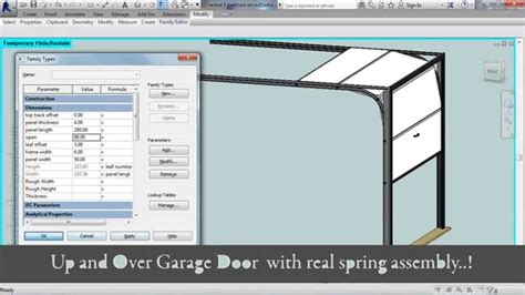 Garage Door Revit Advanced Sectional Garage Door Revit Family