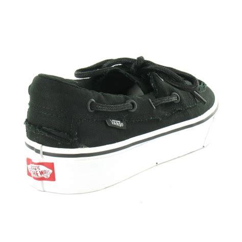 vans deck shoes vans zapato barco mens canvas 2 eyelet deck shoes