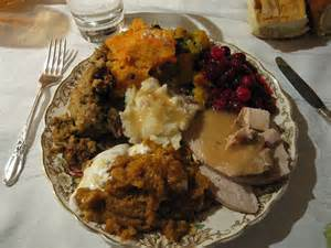 thanksgiving plate example of healthy thanksgiving plate popsugar fitness