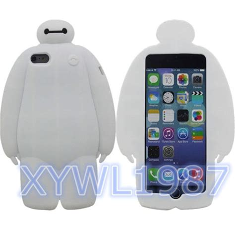 Casing Softcase Iphone 6 Plus Baymax 2 big 6 baymax robot silicone white soft cover for iphone 5 5s 6 6 plus