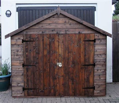 Wooden Bike Storage Shed by All Con Large Bike Shed