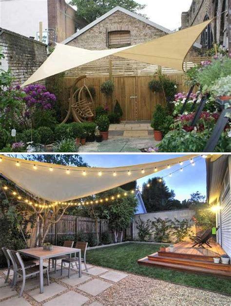 stunning ways to bring shade to yard or patio summer