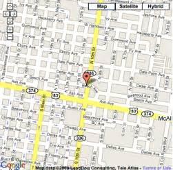 mcallen map mcallen map and mcallen satellite image