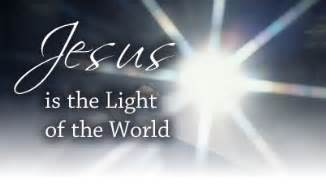 jesus light of the world looking for the