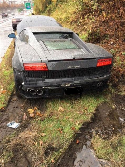 Rent A Lamborghini Seattle Lamborghini Rental Ends Poorly In Bellevue Seattlepi