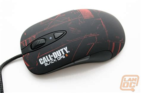 Mouse Steelseries Second steelseries black ops 2 peripherals lanoc reviews