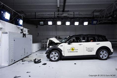 crash test mini mini clubman ncap crashtest 2015 bilder