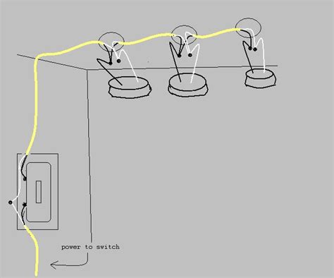 wiring lights to one switch get domain pictures