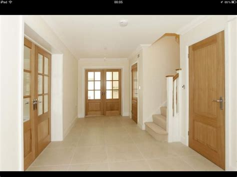 hallway door ideas oak doors and light floors pinteres