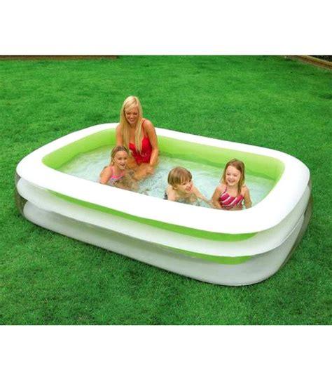 New Kolam Intex Swim Cwnter Family intex swim center family green pool buy intex swim center family green pool at low