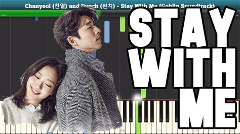 tutorial keyboard stay with me stay with me piano tutorial free sheet music goblin