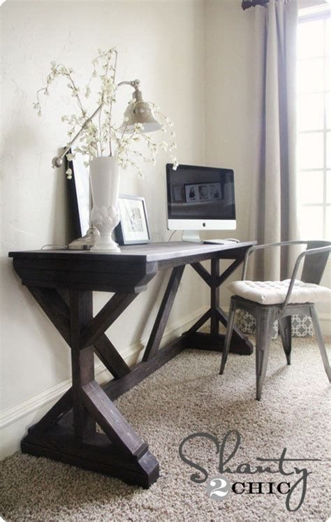 modern farmhouse desk knockoffdecorcom