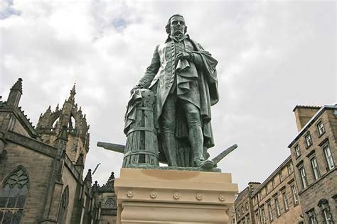 adam smith and the tower of justice tower of justice series books statue of adam smith beside the mercat cross in the royal
