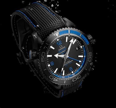 Omega Black the omega seamaster planet black watches
