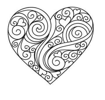 printable coloring pages for adults hearts heart coloring pages fancy printable coloring pages heart