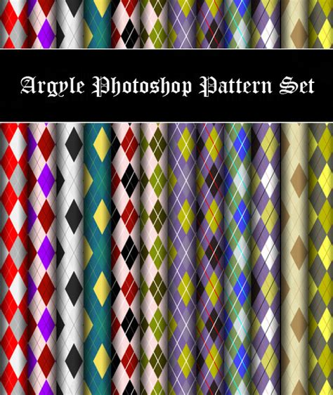 photoshop pattern presets argyle photoshop pattern set adobe presets exclusive