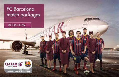 barcelona qatar qatar airways partners fc barcelona to position itself